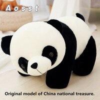 2 шт. моделирование гигантской панды куклы большой плюшевые игрушки 50 см 70 см кукла детский подарок на день рождения детские сопровождается