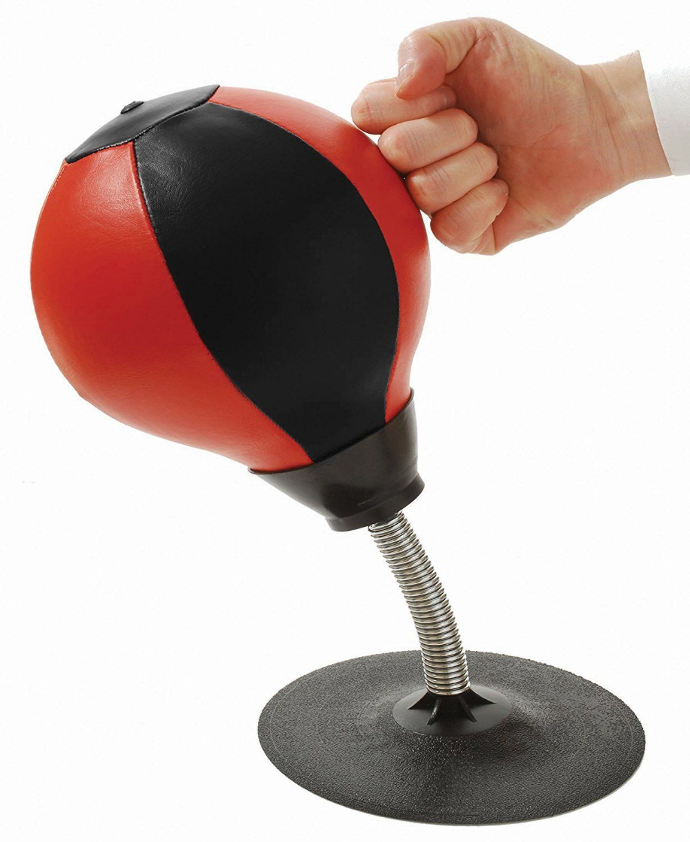 Dropshipping New Desktop Punching Speed Ball Heavy Duty Suction Pressure Relieve Stress Boxing Bag Anti-snxiety Toys 7