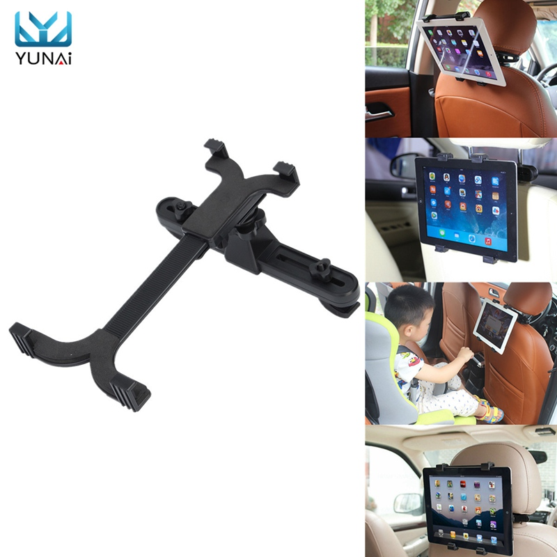 YUNAI Tablet Car Back Seat Headrest Holder Mount Stand Cradle For 7 11inch For Universal Tablet