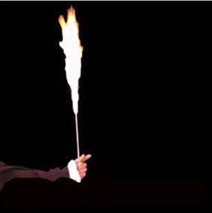Fired Cane Stage Fire Magic Tricks Free Shipping Magia Magie Trick Toy