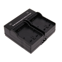 YINGNUOST Dual Channel Digital Camera Battery Charger W LCD Disply AC DC For Sony F550 F750