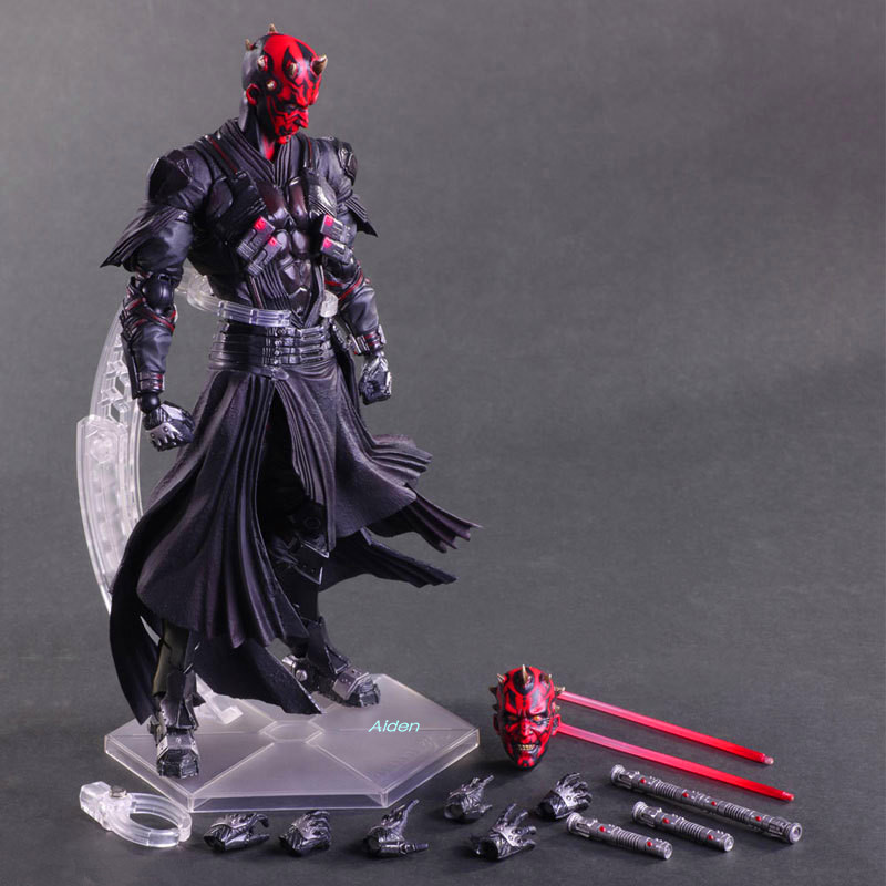 "10 ""kracht Wekt Dathomir Darth Maul Han Solo Play Arts Face-lifting Pvc Action Figure Collectible Model Toy Doos 26 Cm L243"