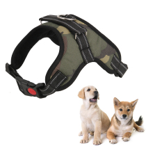 цена Outdoor Soft Adjustable Pet Dog Harness Walk Out Hand Strap Vest Collar for Small Large Dogs Bulldog в интернет-магазинах
