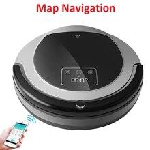 Smartphone Wifi App רובוט שואב אבק B6009, מפת ניווט, חכם זיכרון, יניקה 3000 pa, כפול מנורת UV, רטוב יבש לנגב, aspirador