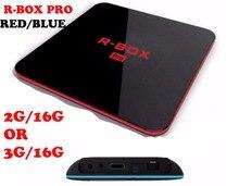 R-BOX PRO Amlogic S912 Octa core 2G/16G 3g 16g Android 6.0 TV Box WiFi BT4.0 2.4G/5.8G KODI H.265 4 K Reproductor Multimedia Inteligente KODI