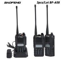 3 шт/лот Оригинальный baofeng bf a58 иди и болтай walkie talkie