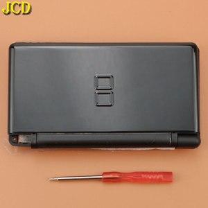 Image 5 - JCD 1 sztuk pełna gra Protect Cases obudowa pokrywa zestaw ze śrubokrętem dla Nintend DS Lite NDSL naprawa obudowa wymienna Case