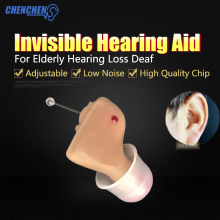 Ear Amplifier Hearing Aid Digital Tone Volume Adjustable Micro  Mini Hearing AIDS Portable Invisible Audiphone