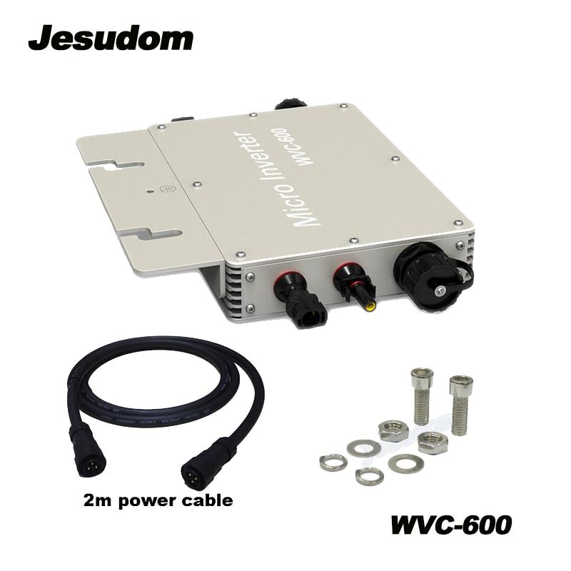 Hot sales WVC 600W Solar Micro Grid on Inverter Input DC22V 50V to AC180 260V 50HZ