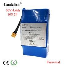 Laudation баланс скутер 36 V 4.4ah Универсальный электрический самокат баланс батареи самобалансирующийся 10 S 2 P для 6,5 «7»