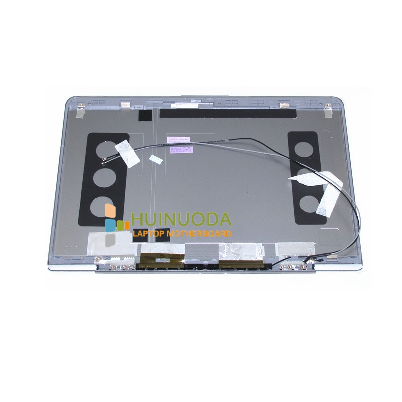 NOKOTION Laptop LCD Back Cover For 530U3C NP530U3C NP530U3B 530U3B Notebook PC Top Silver cover case крепление для жк дисплея ноутбука for samsung samsung 5 np530u3b np530u3c np532u3c np532u3x np535u3c np535u3b ba75 03780a np530 np535 np535u3b np530u3b np530u3c np532u3c np532u3x np535u3c