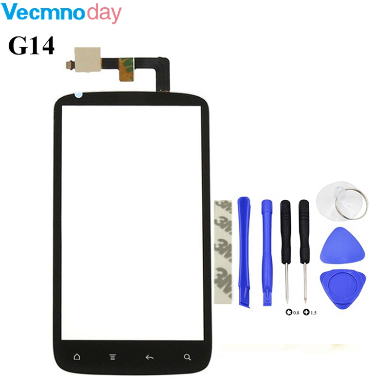 Vecmnoday Touch Panel Touchscreen For HTC Sensation 4G G14 Z710E Touch Screen Digitizer Front Glass Sensor replacement parts