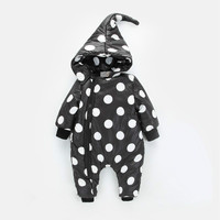 Baby Onesies newborn baby warm winter clothing to climb down all winter long sleeved clothing thickened Kazakhstan