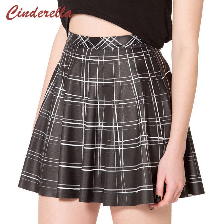 Online Get Cheap Short Black Pleated Skirt -Aliexpress.com ...