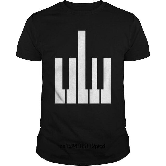 b1e28420b Funny Men t shirt Women novelty tshirt Piano T-shirt Funny Music Band Joke  Tee Keyboard Player Gift cool T-Shirt