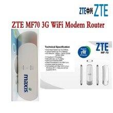 Открыл ZTE mf70 Telstra 21.6 м HSPA + 3G WCDMA GSM USB Беспроводной маршрутизатор + сим-карты Wi-Fi модем мобильного широкополосного доступа сети