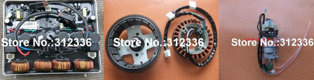 цены  Free Shipping to USA IG6000 AVR New model Carburator Alternator Assembly 220V suit for kipor kama