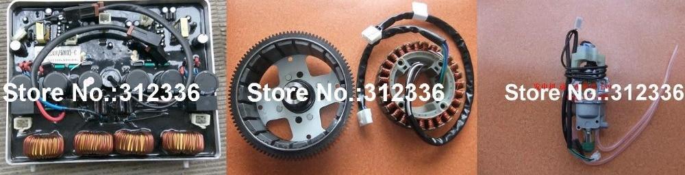 цены  Free Shipping to USA IG6000 AVR New model Carburator Alternator Assembly 220V suit for kipor kama