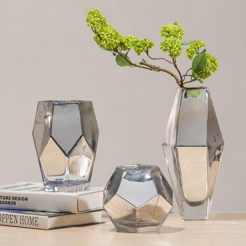 Aliexpress Buy Golden Silver Fashion Creative Plating Glass