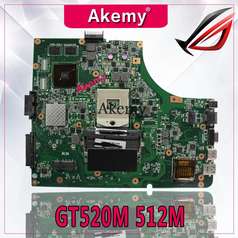 Akemy K53SV Laptop motherboard for ASUS K53SM K53SC K53S K53SJ P53SJ A53SJ Test original mainboard 3.0/3.1 GT520M 512M-in Motherboards from Computer & Office    1