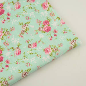 booksew 100% Cotton Printed Floral Sewing Cloth Fabric
