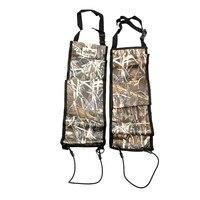 2 PCS Multi Functional Camouflage Hunting Bag Car Rear Seat Belt Gun Rack Outdoor Hunting Equipment