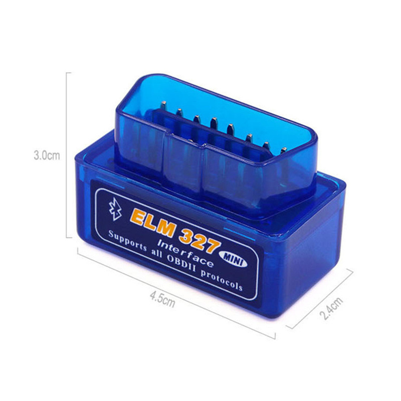 Mini Bluetooth ELM327 OBDII V1.5 Launch Easydiag Scan Tools Code Readers for Monitoring Car Driving On Board Diagnostic OBD2