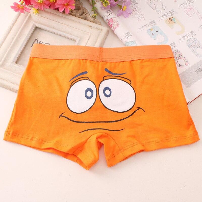 2pc/lot Children's Cute Cartoon Boxers Boys Pure Cotton Soft Colorful Underpants Underwear Boxer 5