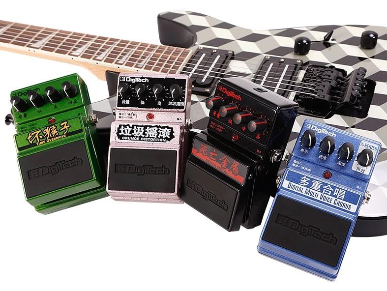 DigiTech DDM Death Metal Distortion/ Grunge Distortion Pedal/ Digital Multi Voice Chorus Guitar Effects Pedal