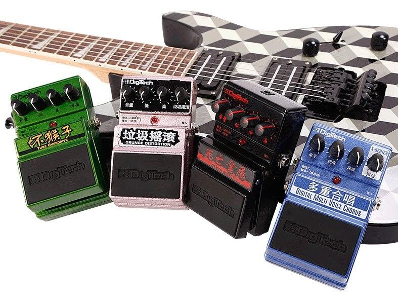 DigiTech DDM Death Metal Distorsion/Grunge Pédale de Distorsion/Numérique Multi Choeur Pédale D'effets pour Guitare