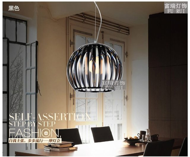 July]Creative fashionable dining room lamps only head droplight ikea ...