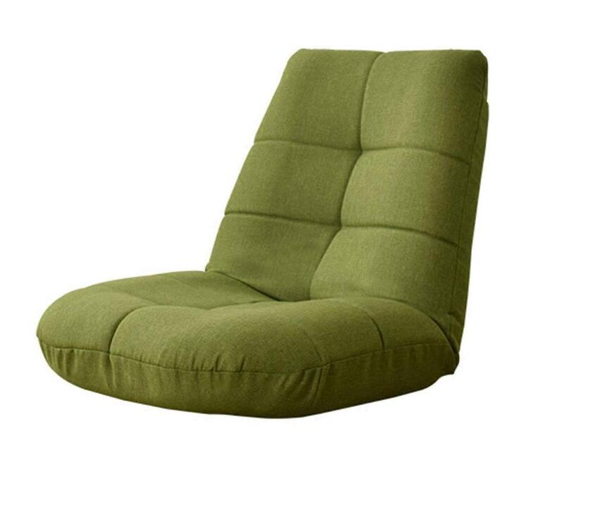 Lazy Lounge Little Sofa Folding Floor Chair Backrest Couch Adjustable Gaming Reclining Dormitory Home Living Room Bedroom Chair цена