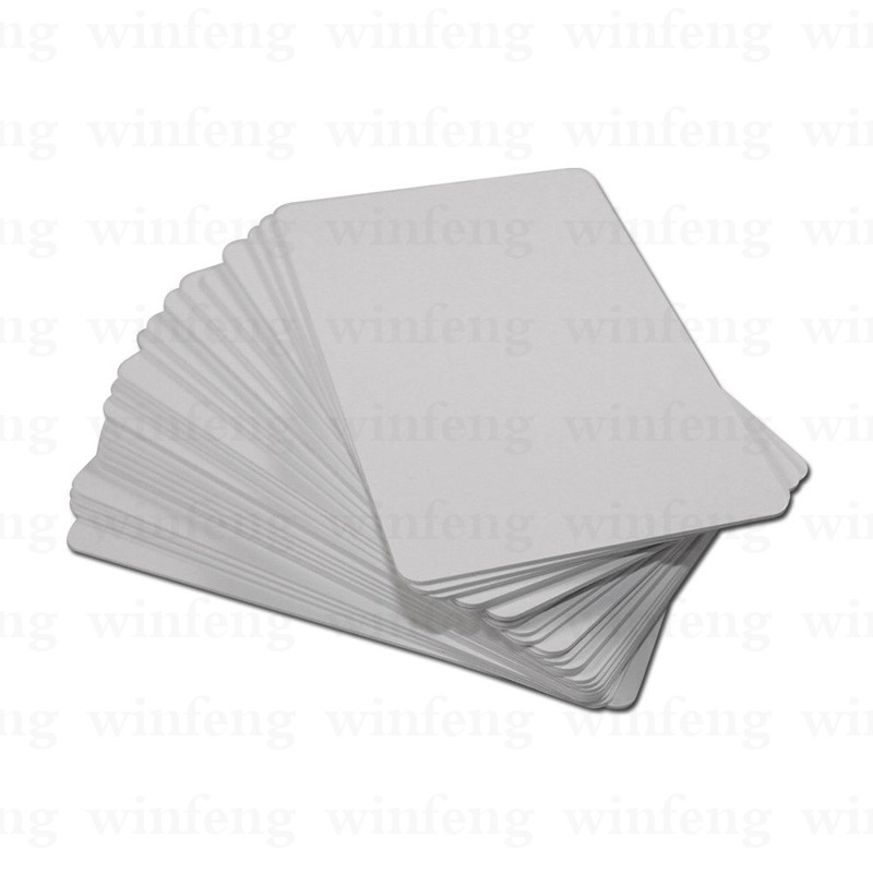500pcs/lot 125khz RFID PVC Blank Smart Plastic Card Proximity TK4100 Chip Card with Overlay Lamination for thermal printer 20pcs lot contact sle4428 chip gold card with magnetic stripe pvc blank smart card purchase card 1k memory free shipping