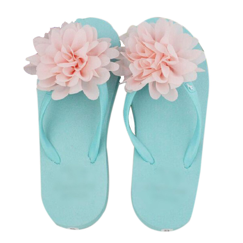 shoes woman sandals summer zapatos mujer women Beach Flip Flops Flats Flowers Beach Slippers outside slippers floral flat wgznyn 2017 fashion women sandals summer breathable hollow out beach slippers shoes casual flat flip flops zapatos mujer