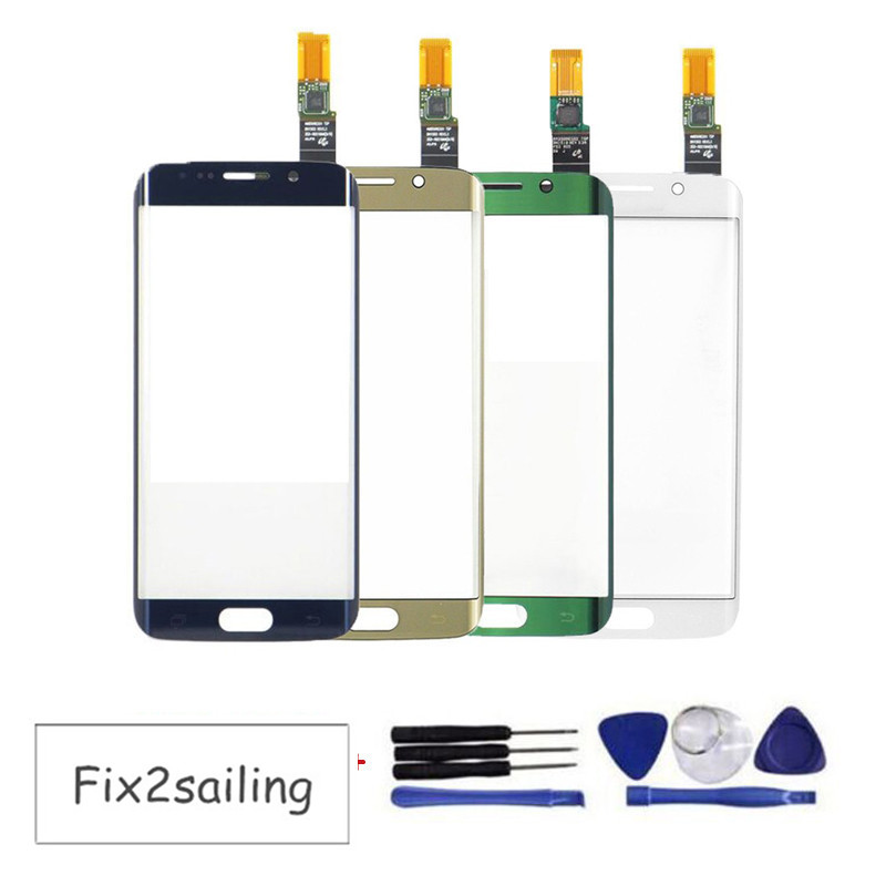 OEM Touch Screen Digitizer For Samsung Galaxy S6 Edge G9250 G925F Touch Sensor Glass Panel Replacement+Free Tools,Free Shipping