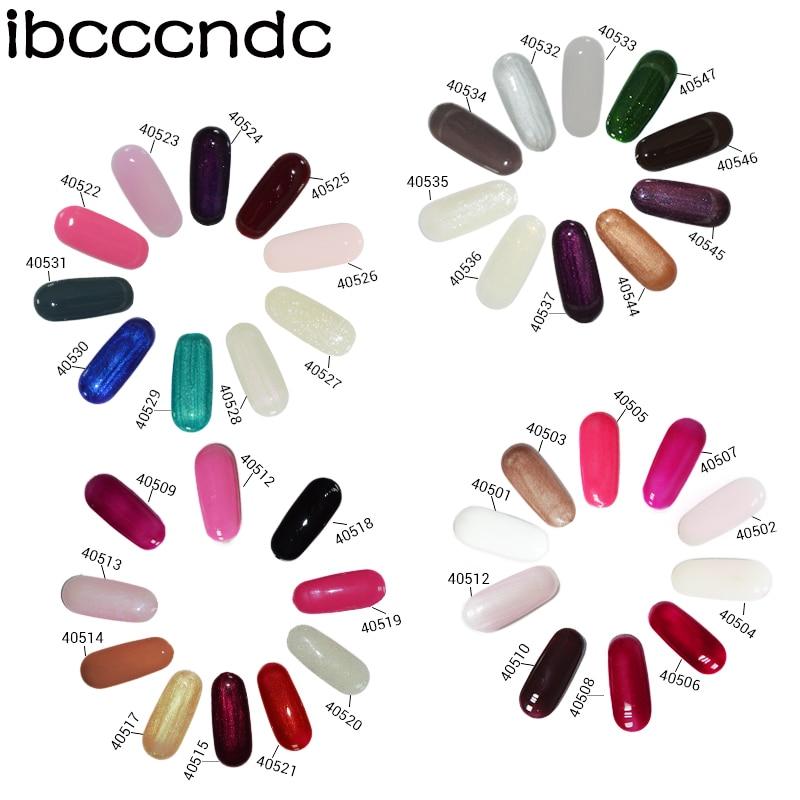 IBCCCNDC 7.3ml UV köröm gél Easy áztassa köröm gél lengyel - Köröm művészet - Fénykép 5