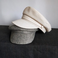 Hat Men and Women Spring and Autumn Outdoor Visor Cap Sunscreen White Navy Cap Summer Wild Casual Hat Fedora Hat for Woman