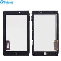 Netcosy Noir Écran Tactile En Verre Digitizer Pour Acer Iconia Tab A100 A101 Tactile Panneau Avec Cadre pièces De Rechange écran tactile