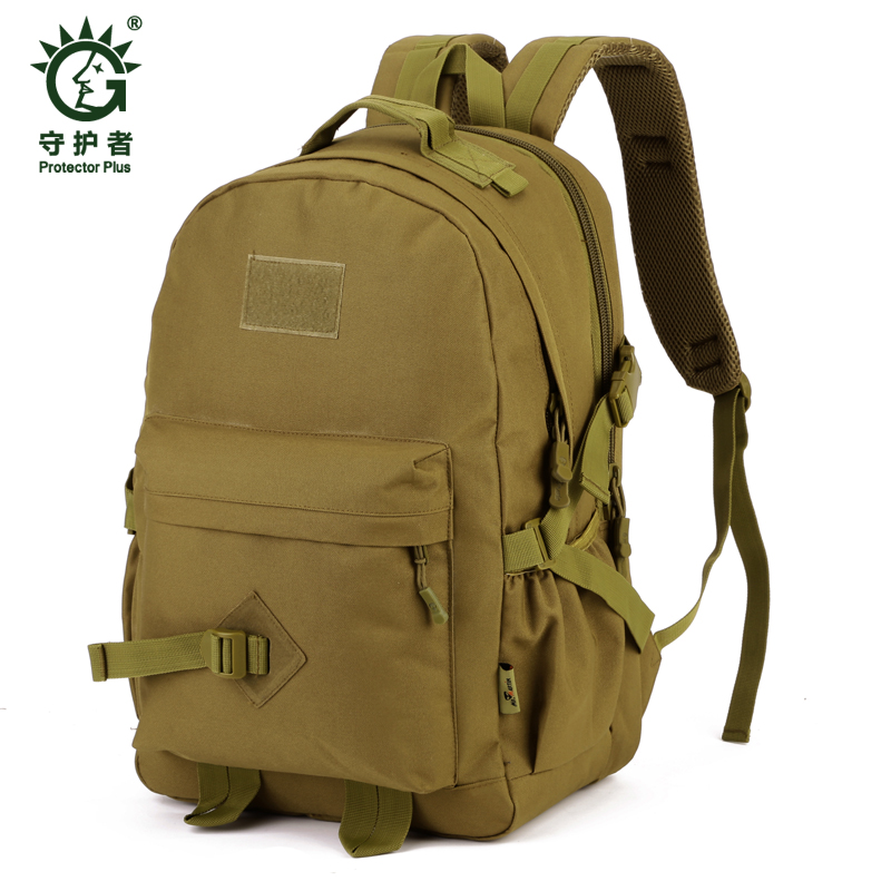 Field Tactical Hiking training Pack Outdoor bag Climbing package 40L Man Big Large Ride Travel Backpack
