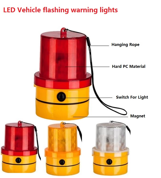 LED Vehicle Flashing Warning Lights