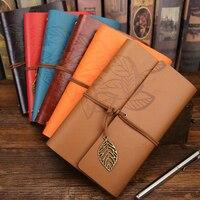Vintga Notebook Imitation Leather Retro Notepad Office School Stationery Gifts