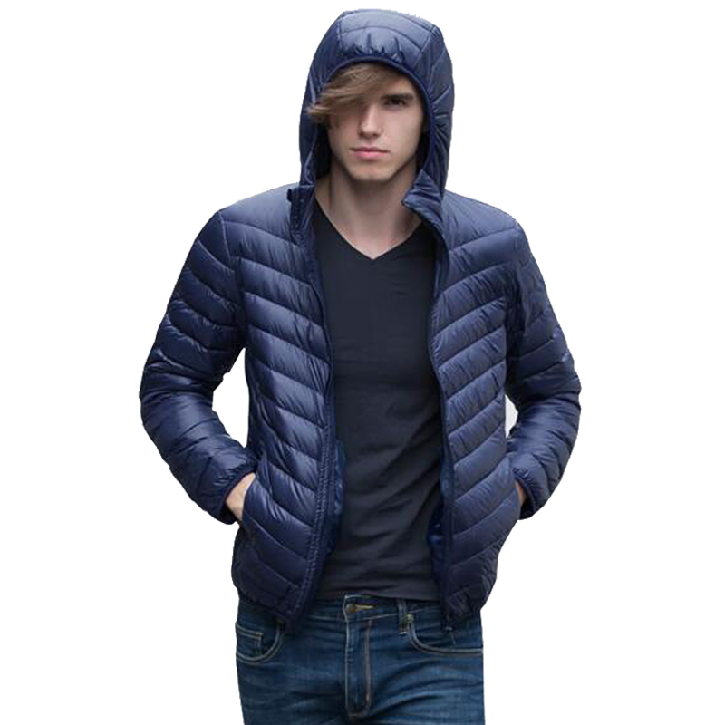 Canard D'hiver 3xl Capuchon Taille Plus Sac À Avec Ultralight Transport Veste Parka black Red wine S De La Green gray navy Jacket Old Duvet blue Extérieur G229 Down Blanc Hommes EcqzARPan6