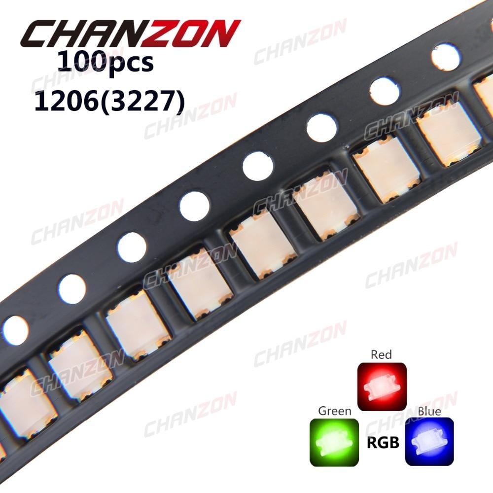20 x LED PLCC6 5050 Red SMD LEDs SMT Light Super Ultra Bright Light Car PLCC-6