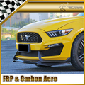Racing For Ford 2015 Mustang GT350R Carbon Fiber Front Lip & Canard