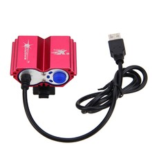8000 Lumens  XM-L T6 LED Bike Light 4 Modes Cycling Lamp with Battery Pack and Charger