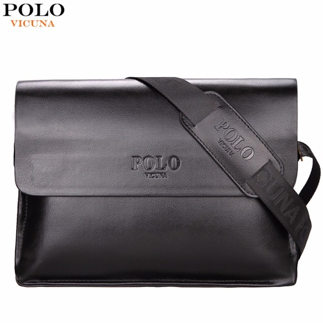 VICUNA POLO Famous Brand Mens Messenger Bag Hot Sell Promotion Business Man Bag Casual Men's Crossbody Bag bolsos hombre Handbag