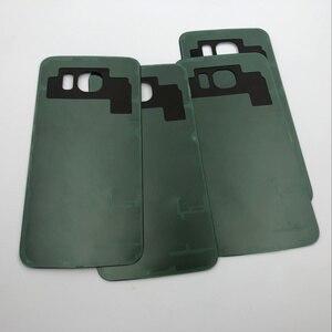 Image 3 - Oryginalna pełna obudowa tylna pokrywa + przednia do szkła ekranu i soczewek + środkowa ramka do Samsung Galaxy S6 G920 G920F G920A SM G920F