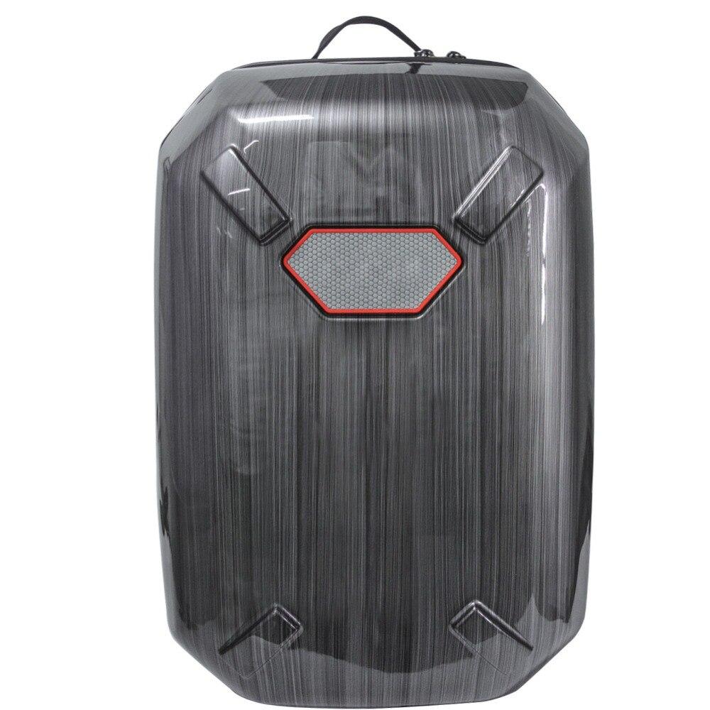 цена на 2017 Phantom Universal Backpack Shoulder Bag Hard Leather Box Waterproof Case for DJI Phantom 3/4 Standard Drone Accessories