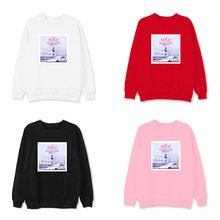 BLACKPINK surrounding sweatshirts with the same paragraph male female set head round neck Korean version of the spring autumn(China)
