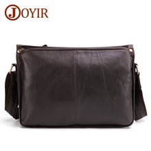JOYIR Messenger Bag Men Shoulder bags Genuine Leather Small male man Crossbody bags for Messenger men Leather bags Handbags 6416